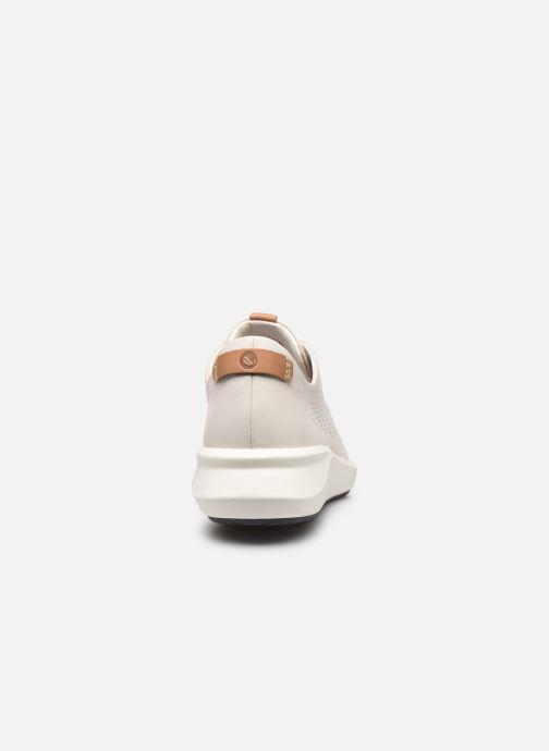 Sneakers Clarks Unstructured Un Rio Tie Bianco immagine destra