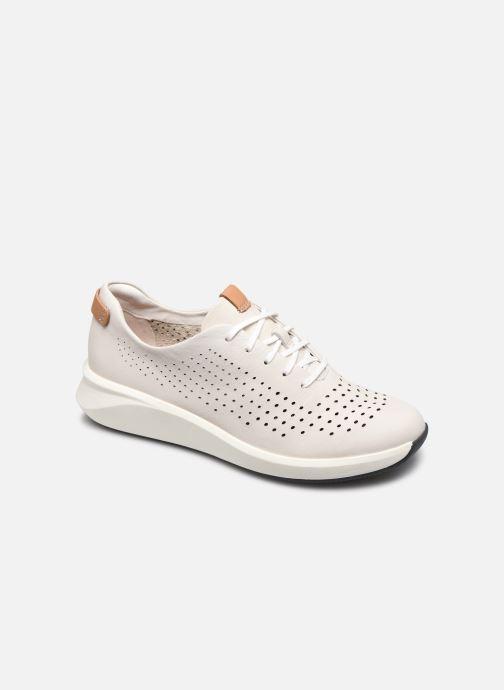 Sneakers Clarks Unstructured Un Rio Tie Bianco vedi dettaglio/paio