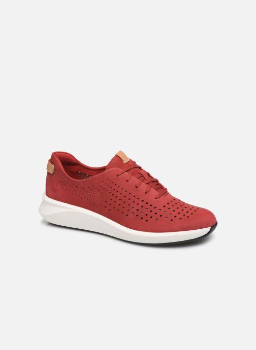 Sneaker Clarks Unstructured Un Rio Tie rot detaillierte ansicht/modell