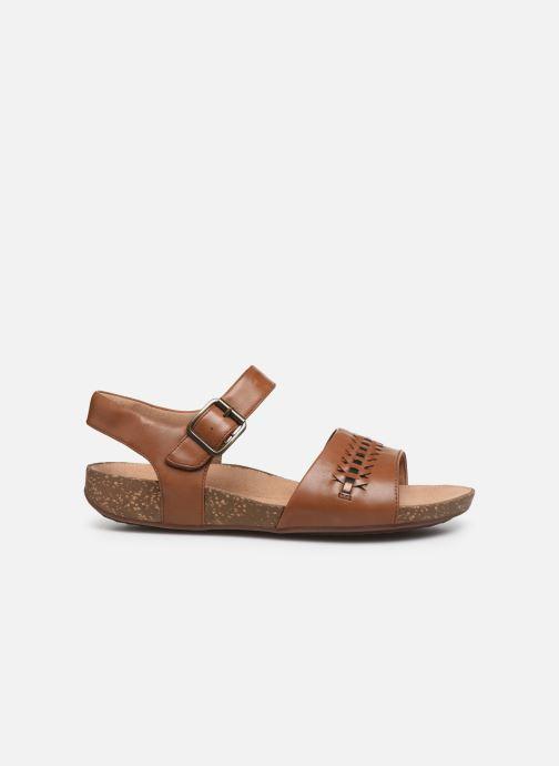 Sandales et nu-pieds Clarks Unstructured Un Perri Way Marron vue derrière