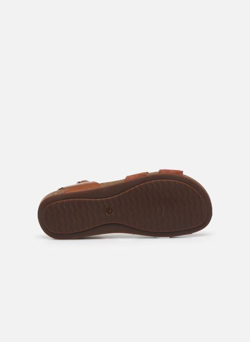 Sandales et nu-pieds Clarks Unstructured Un Perri Loop Marron vue haut