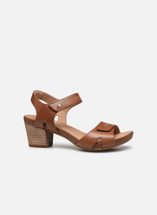 Sandali e scarpe aperte Clarks Unstructured Un Palma Vibe Marrone immagine posteriore