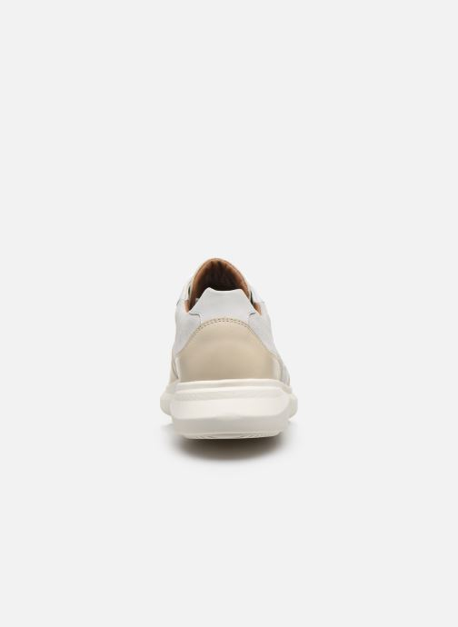 Deportivas Clarks Unstructured Un Globe Run Blanco vista lateral derecha