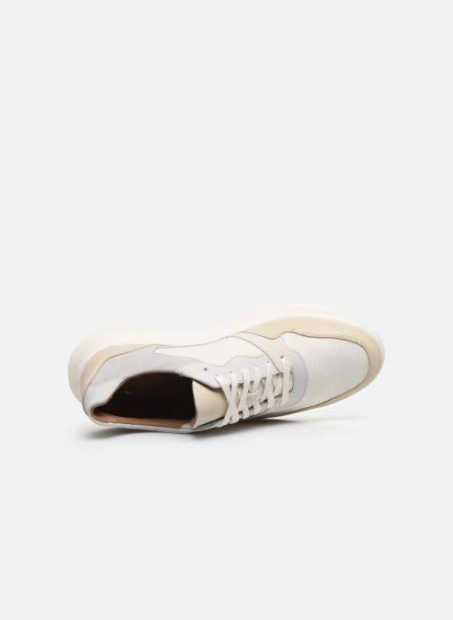 Sneaker Clarks Unstructured Un Globe Run weiß ansicht von links