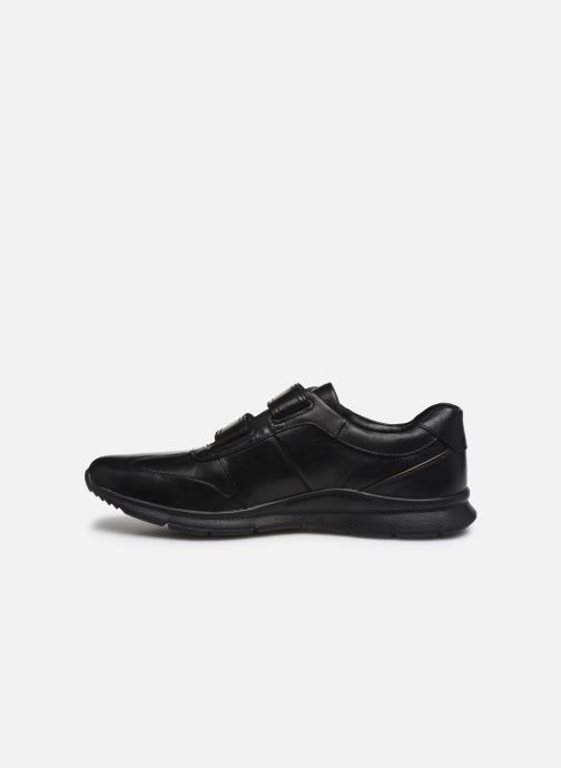 Baskets Clarks Unstructured Un Tynamo Turn Noir vue face