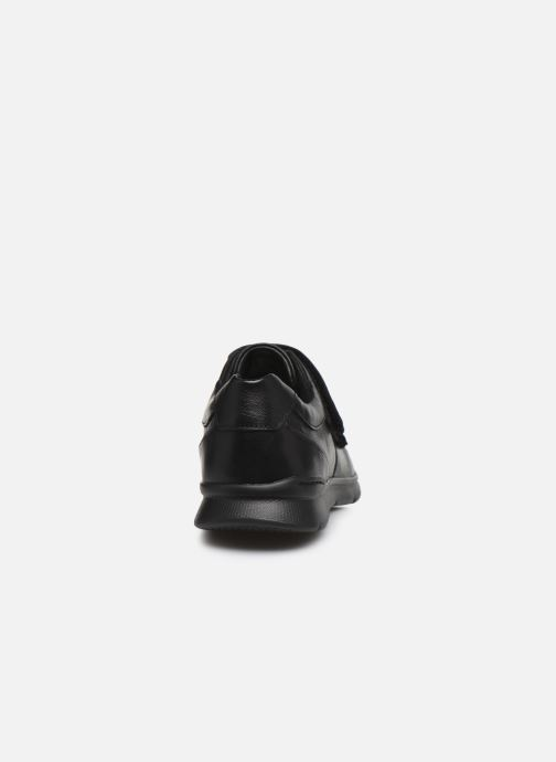 Baskets Clarks Unstructured Un Tynamo Turn Noir vue droite