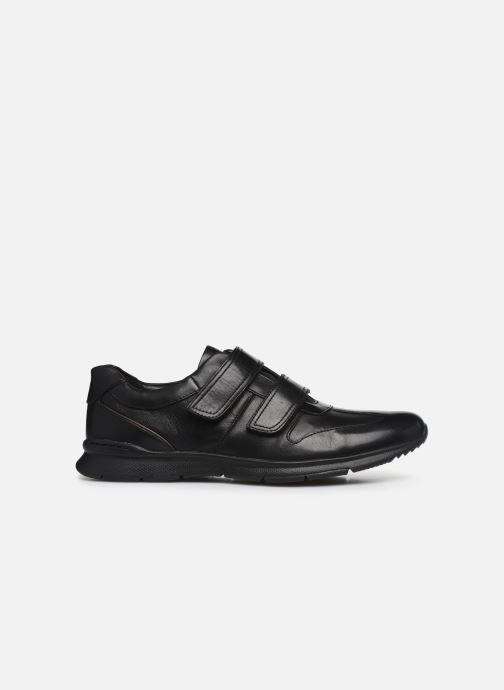 Baskets Clarks Unstructured Un Tynamo Turn Noir vue derrière