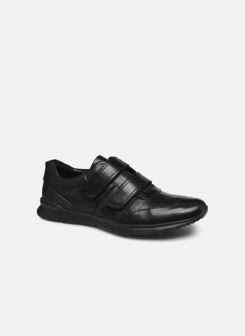 Baskets Clarks Unstructured Un Tynamo Turn Noir vue détail/paire
