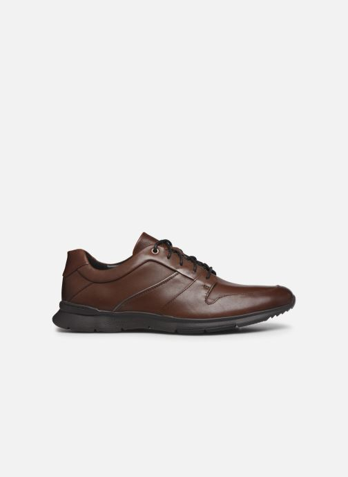 Baskets Clarks Unstructured Un Tynamo Flow Marron vue derrière