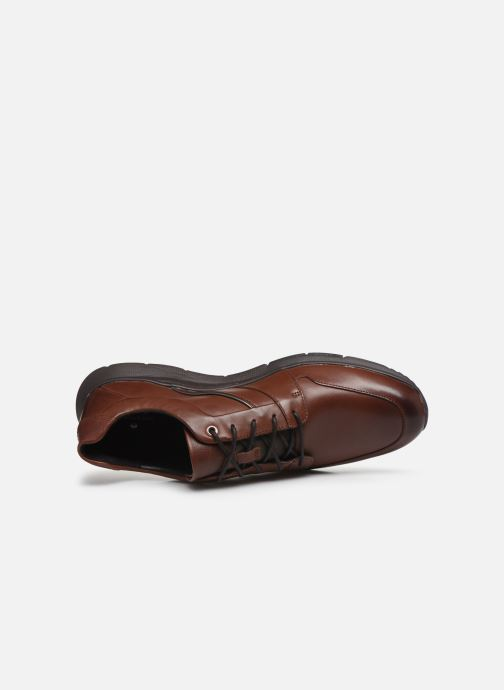 Baskets Clarks Unstructured Un Tynamo Flow Marron vue gauche