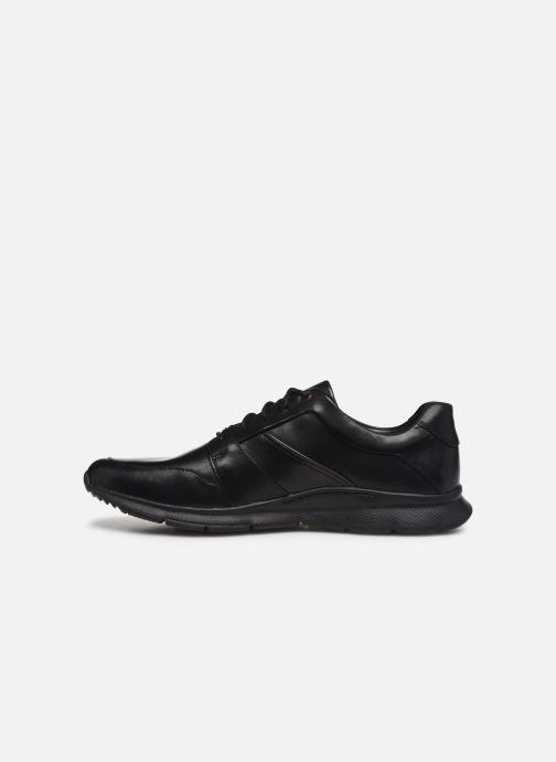 Sneakers Clarks Unstructured Un Tynamo Flow Nero immagine frontale