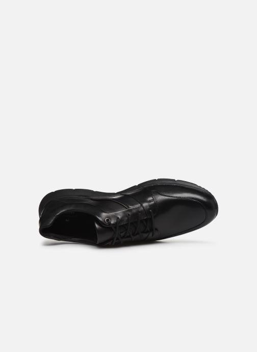 Sneakers Clarks Unstructured Un Tynamo Flow Nero immagine sinistra