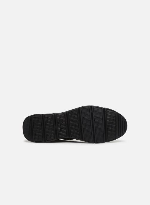 Sneakers Clarks Unstructured Un Tynamo Flow Nero immagine dall'alto