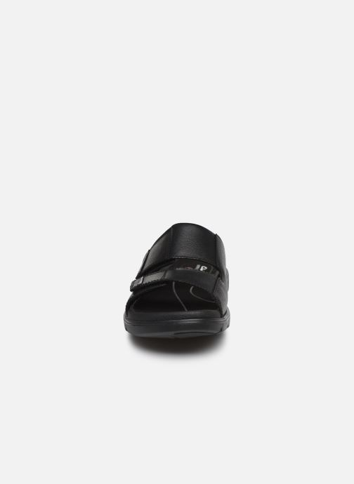 Sandales et nu-pieds Clarks Unstructured UnWilmore Part Noir vue portées chaussures