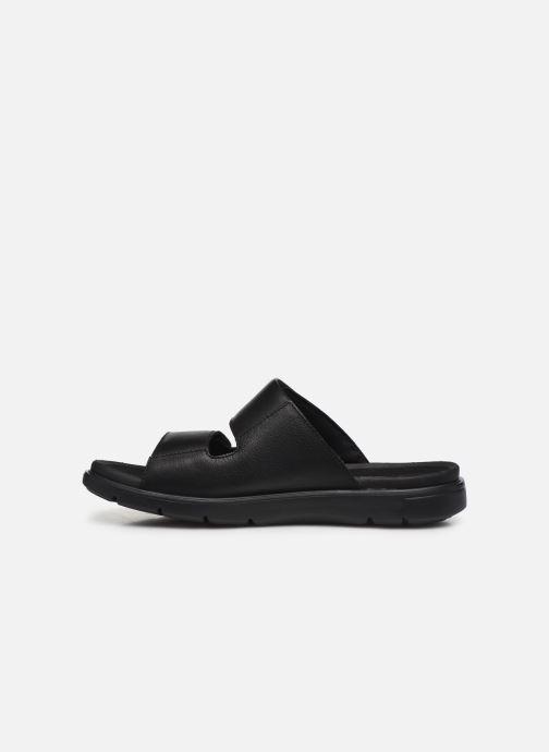 Sandales et nu-pieds Clarks Unstructured UnWilmore Part Noir vue face