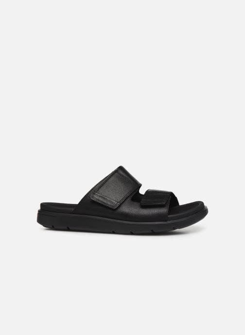 Sandales et nu-pieds Clarks Unstructured UnWilmore Part Noir vue derrière