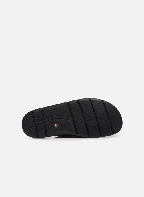 Sandales et nu-pieds Clarks Unstructured UnWilmore Part Noir vue haut