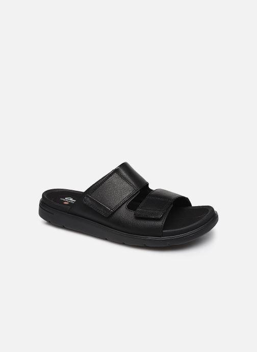 Sandales et nu-pieds Clarks Unstructured UnWilmore Part Noir vue détail/paire