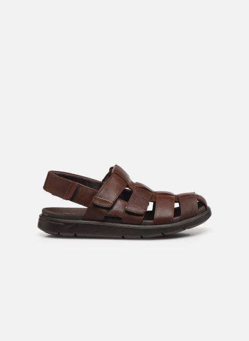 Sandali e scarpe aperte Clarks Unstructured UnWilmore Ray Marrone immagine posteriore