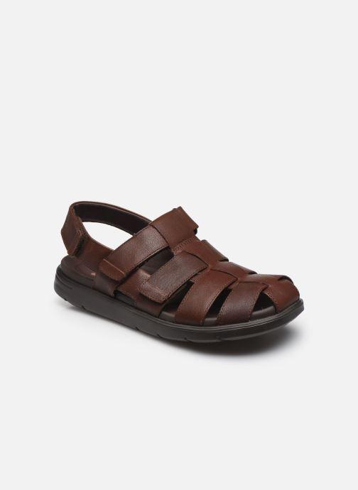 Sandales et nu-pieds Clarks Unstructured UnWilmore Ray Marron vue détail/paire