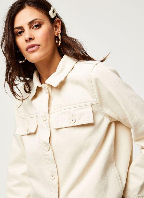 Vêtements OBJECT Objestelle Jacket 108 Beige vue face