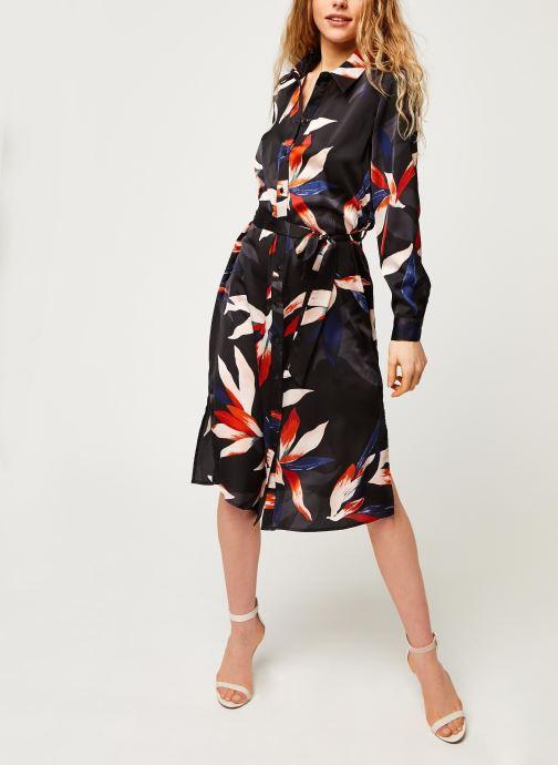 Vêtements OBJECT Objmichelle L/S Shirt Dress A Div Noir vue bas / vue portée sac