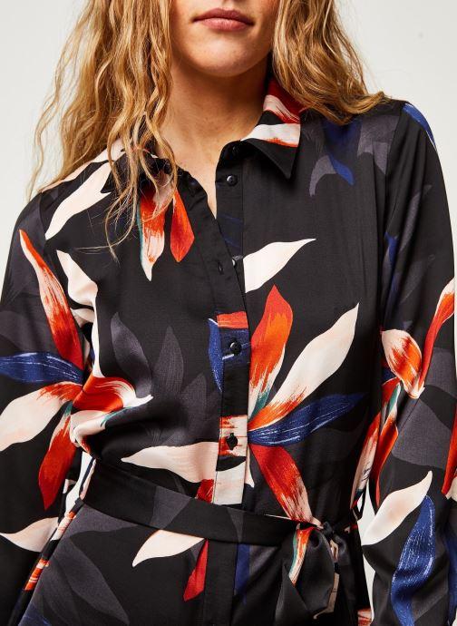 Vêtements OBJECT Objmichelle L/S Shirt Dress A Div Noir vue face
