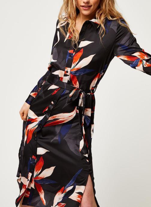Vêtements OBJECT Objmichelle L/S Shirt Dress A Div Noir vue détail/paire
