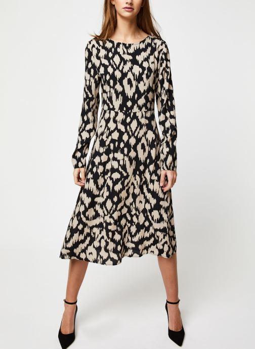 Vêtements OBJECT Objnoah L/S Long Dress A Lmt 12 Noir vue bas / vue portée sac