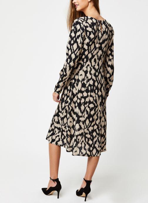 Vêtements OBJECT Objnoah L/S Long Dress A Lmt 12 Noir vue portées chaussures