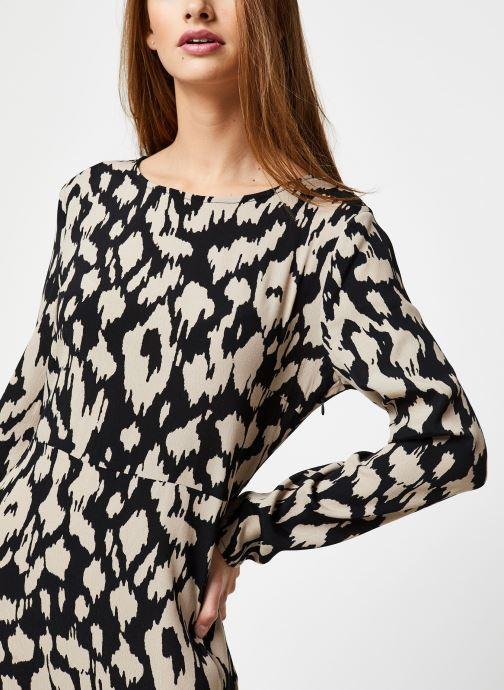 Vêtements OBJECT Objnoah L/S Long Dress A Lmt 12 Noir vue face