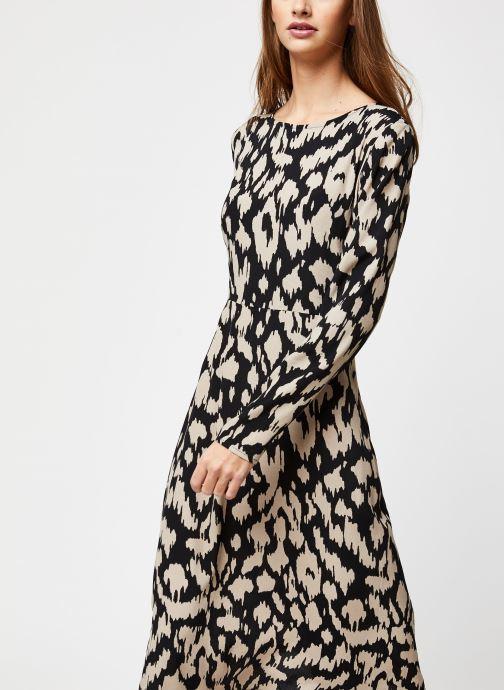 Vêtements OBJECT Objnoah L/S Long Dress A Lmt 12 Noir vue droite