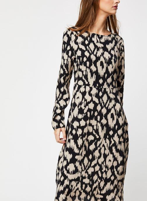 Vêtements OBJECT Objnoah L/S Long Dress A Lmt 12 Noir vue détail/paire