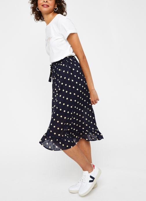Vêtements OBJECT Objphoenix  Wrap Skirt A Q Bleu vue bas / vue portée sac