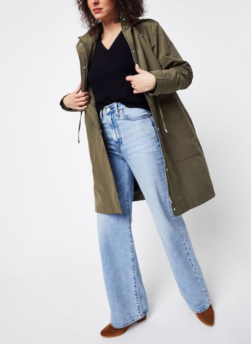 Vêtements OBJECT Objselma Jacket Pb7 Vert vue bas / vue portée sac