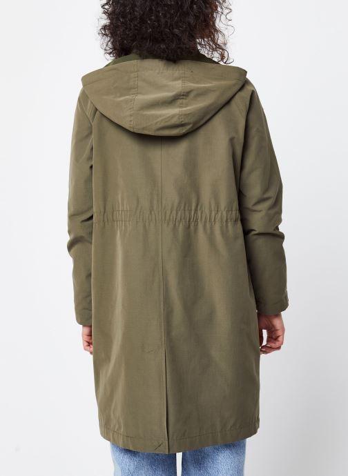 Vêtements OBJECT Objselma Jacket Pb7 Vert vue portées chaussures
