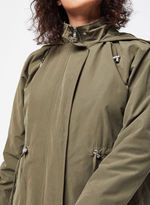 Vêtements OBJECT Objselma Jacket Pb7 Vert vue face