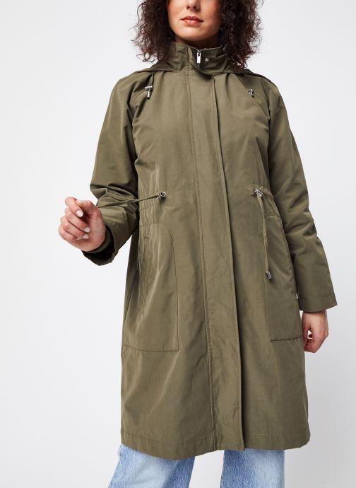 Vêtements OBJECT Objselma Jacket Pb7 Vert vue droite
