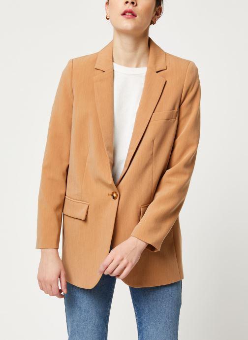 Vêtements OBJECT Objsiringa Blazer A Lmt 12 Marron vue droite