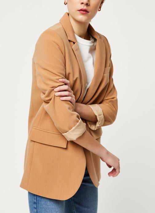 Vêtements OBJECT Objsiringa Blazer A Lmt 12 Marron vue détail/paire