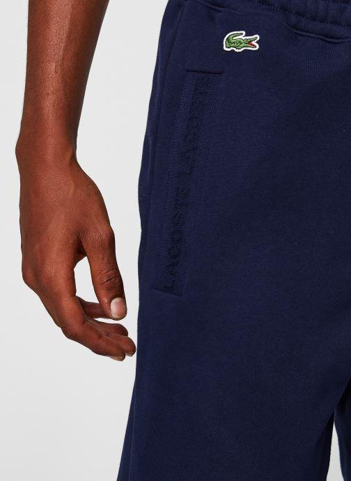 Vêtements Lacoste Pantalon de Jogging Bleu vue face