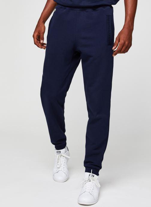Vêtements Lacoste Pantalon de Jogging Bleu vue détail/paire