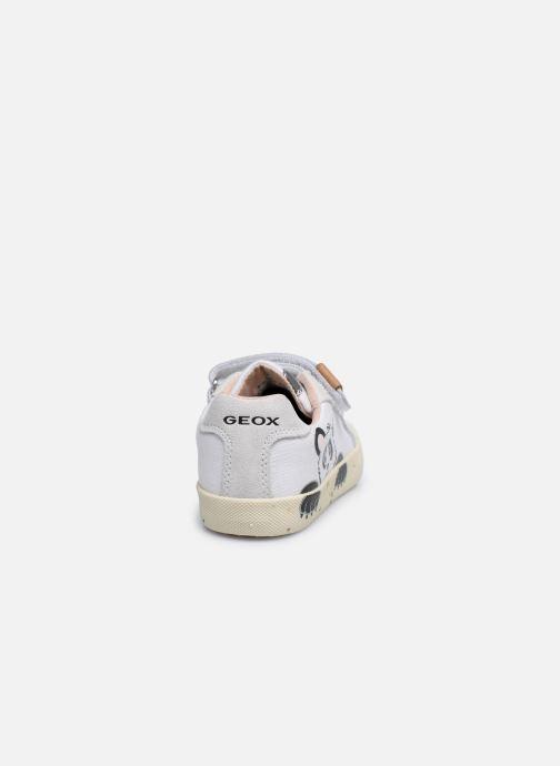 Sneaker Geox B Kilwi Girl B02D5H x WWF weiß ansicht von rechts