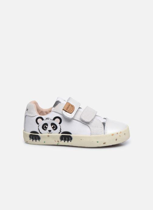 Sneaker Geox B Kilwi Girl B02D5H x WWF weiß ansicht von hinten