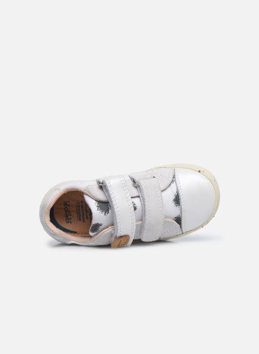 Sneaker Geox B Kilwi Girl B02D5H x WWF weiß ansicht von links