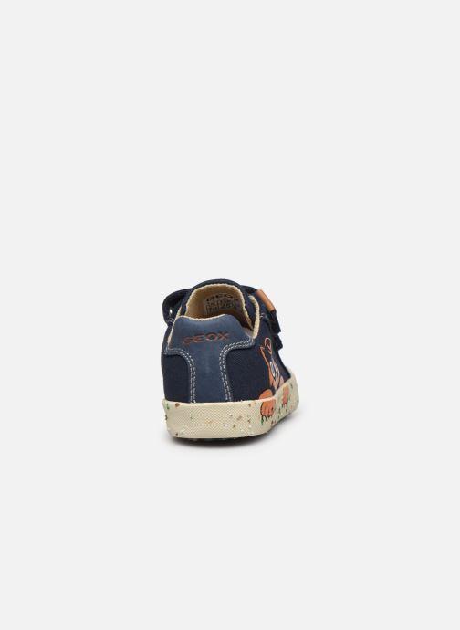 Sneakers Geox B Kilwi Boy B02A7J x WWF Blauw rechts