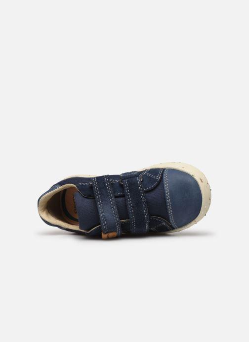 Sneakers Geox B Kilwi Boy B02A7J x WWF Blauw links
