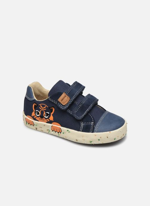 Sneakers Geox B Kilwi Boy B02A7J x WWF Blauw detail