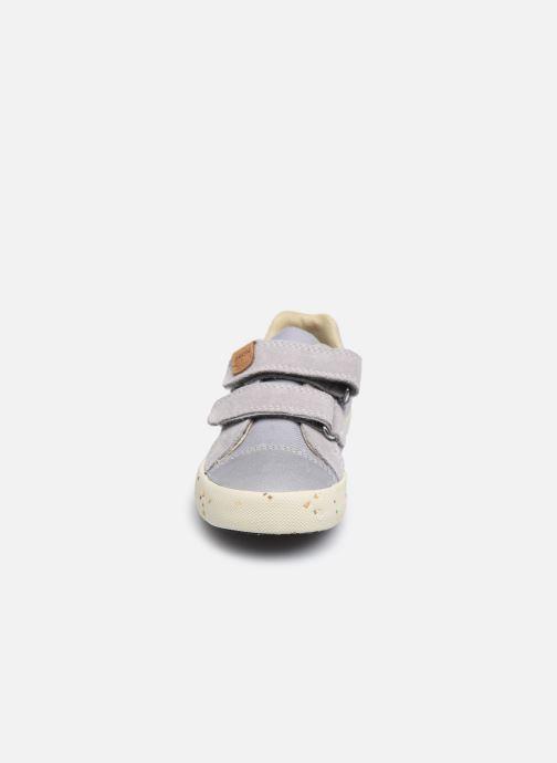 Sneaker Geox B Kilwi Boy B02A7J x WWF grau schuhe getragen
