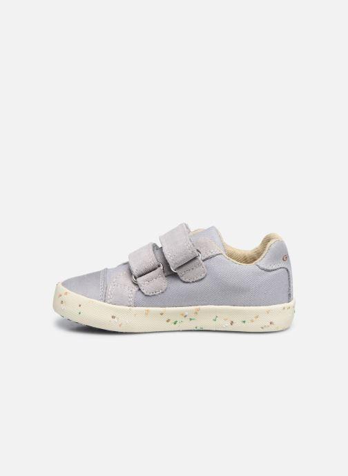 Sneaker Geox B Kilwi Boy B02A7J x WWF grau ansicht von vorne